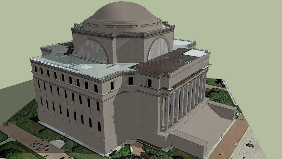 Low Library, Columbia University (Semi Final)