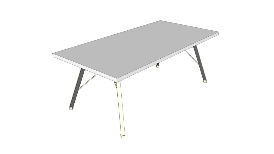 Spoinq Table Straight 200 cm.