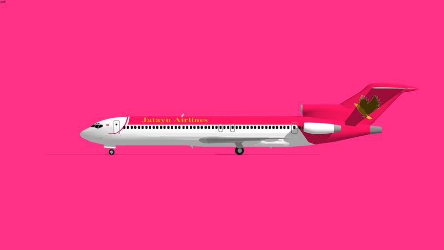 Jatayu Airlines Boeing 727-200 1