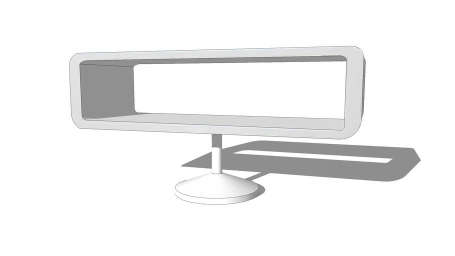 TWIGGY Meuble TV blanc REF 166336 PRIX 199.00€