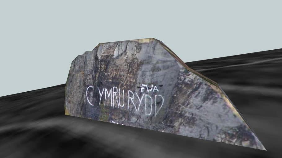 F.W.A (Free Wales Army) Graffiti