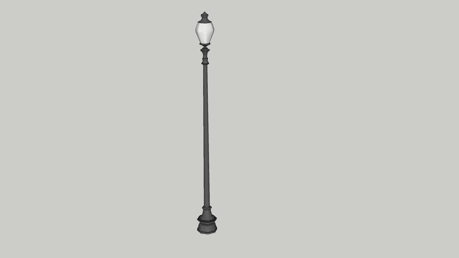 ACORN TOP LAMP POST