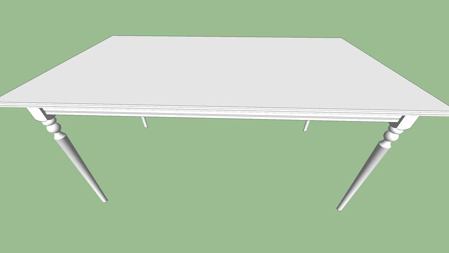 IKEA INGATORP Open_Close Dinning table