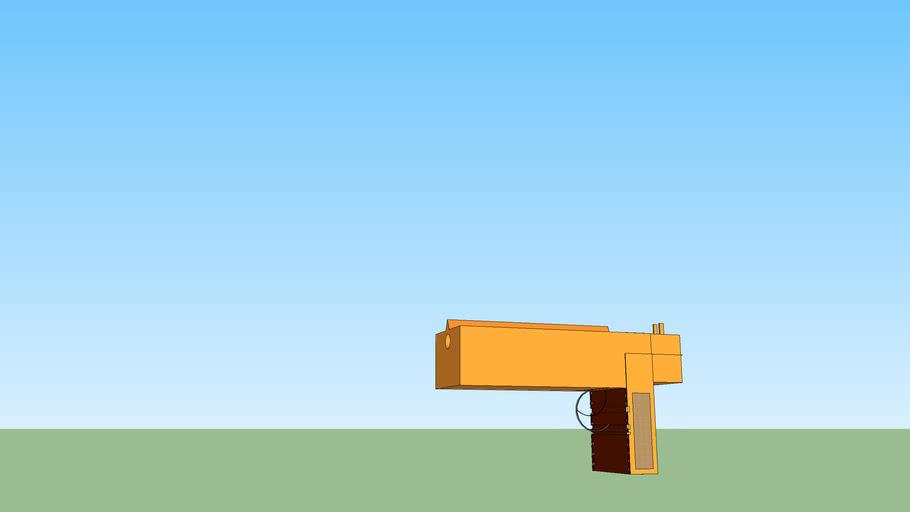 Horrible desert eagle model fail