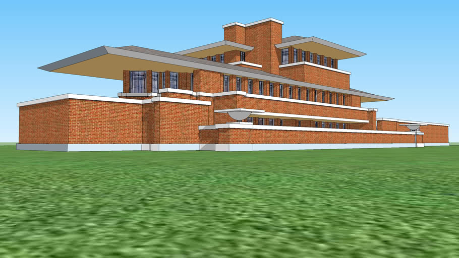 Casa Robie por Frank Lloyd Wright