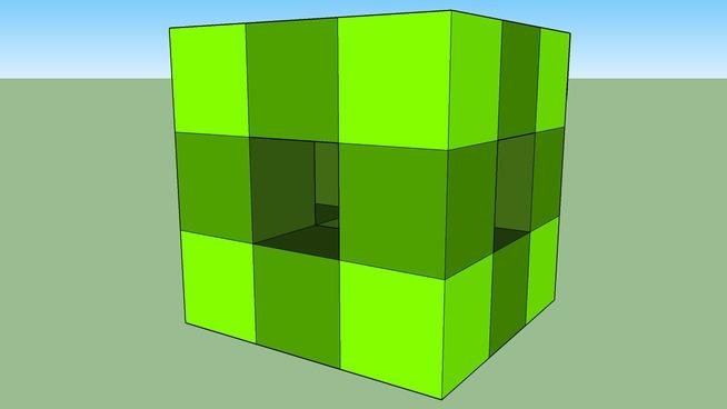 Yuri - 3 strati di cubozzi (cubo di cubetti)