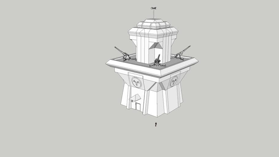Anti-Air Artillery Defense Tower