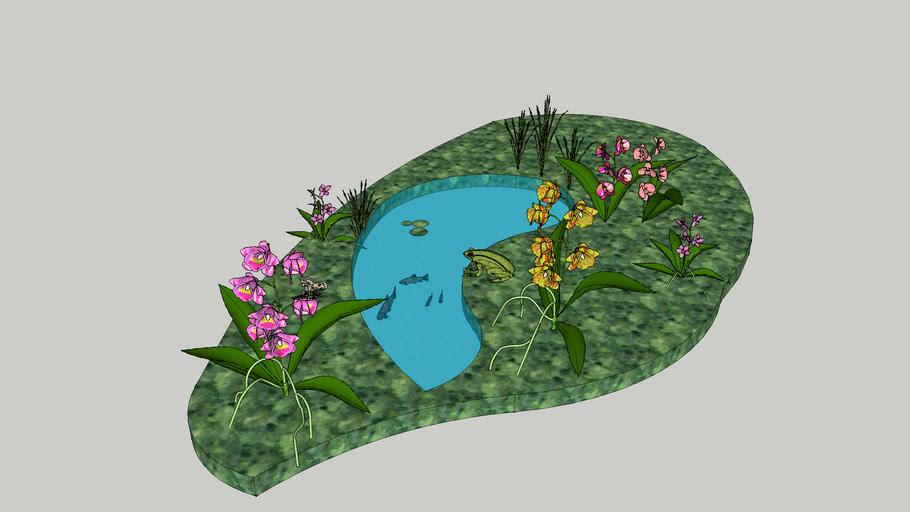 3D Orchids, fairy picture