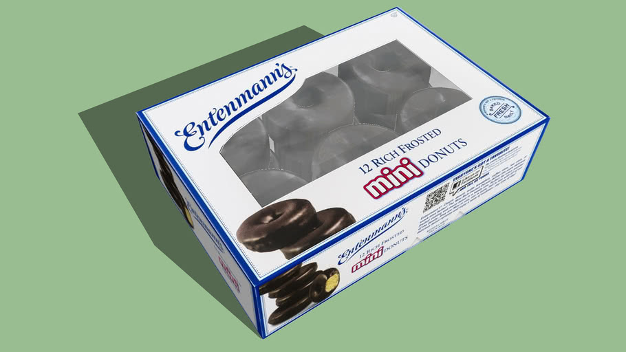 Entenmann's Mini Donuts in Box 12 Count - Hires