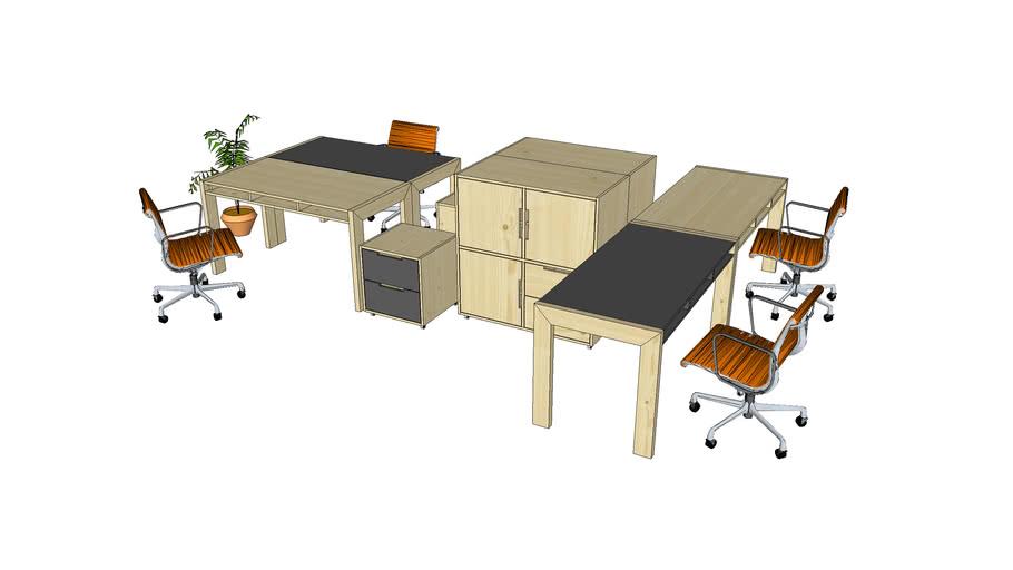 Togo office, Gazel