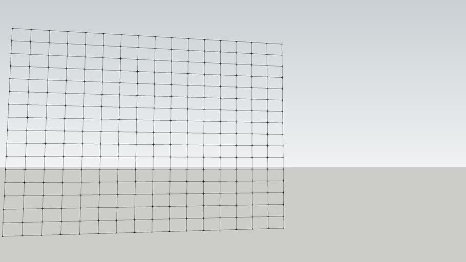 welded net