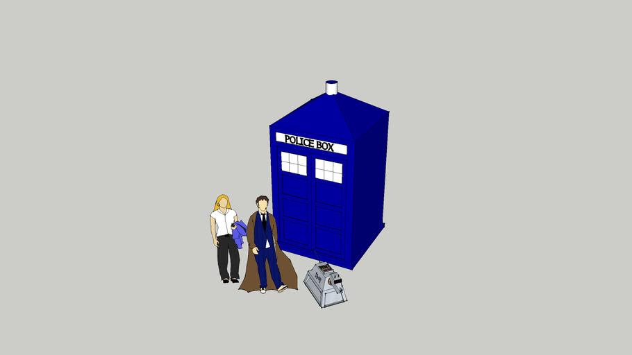 Tardis & Dr Who