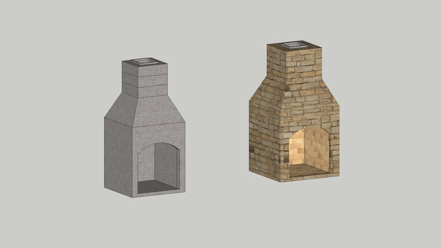 """Stone Age 24"""" Contractor Series Fireplace Kit"""