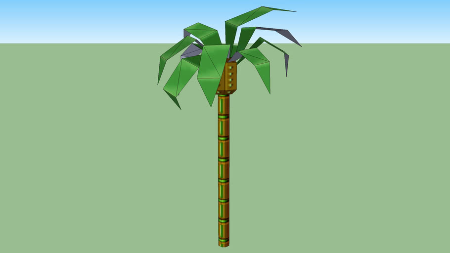 Tree Palm from Sonic Stage