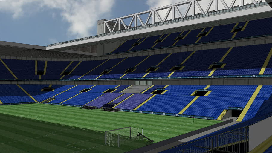 my new elland road at sunny day realistic
