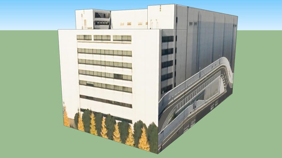 Building in 海岸, Minato Ward, Tōkyō Metropolis, Japan