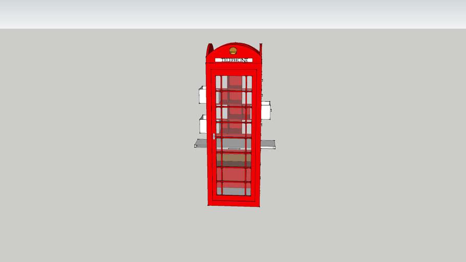 telefooncel bureau