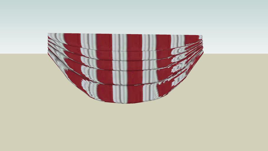 Rideau drapé