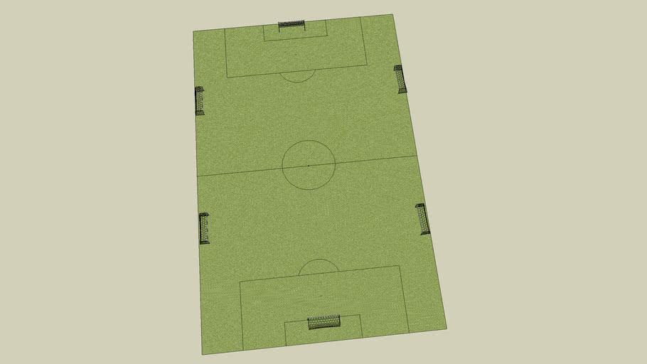 Panther Creek High School Soccer Practice Field