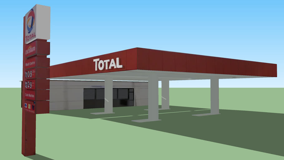 Total Gas Station, Chester Road, Stretford, Manchester, UK