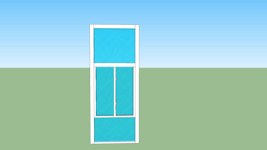10ft front wall glass