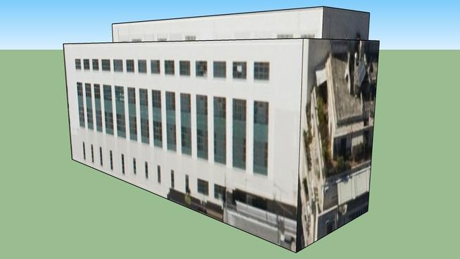 Antoniadou Building of AUEB  in Athens, Greece