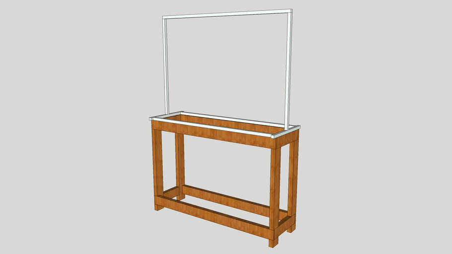 Seed starting and Plant grow light stand