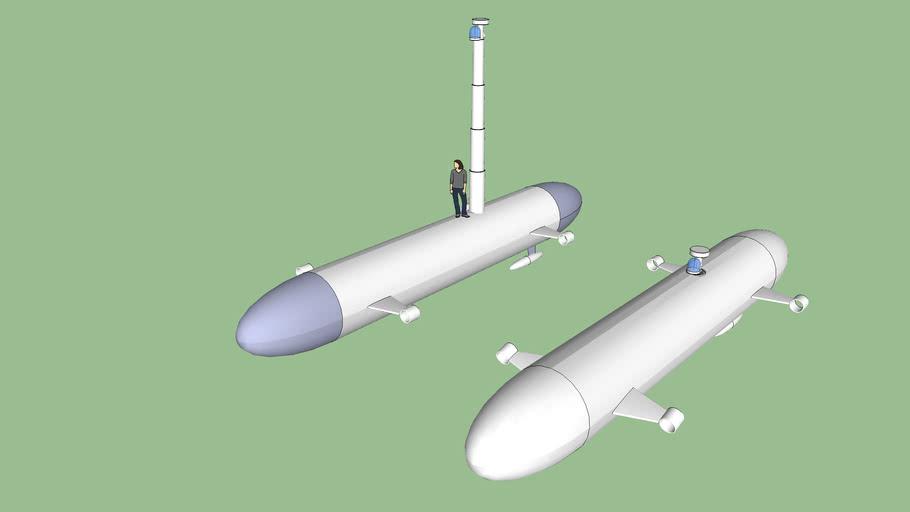 autonomous smuggling submarine