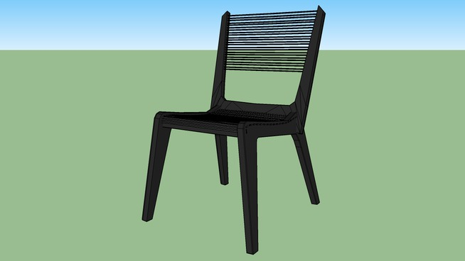The Jacques Guillon Cord Chair