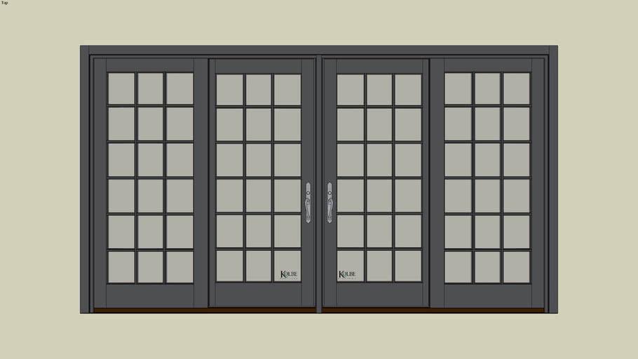"Kolbe Ultra Garden-Aire GAU4-12066 (F.S. 11'-10 3/8"" x 6'-7 15/16"" R.O. 11'-10 7/8"" x 6'-8 7/16"")"