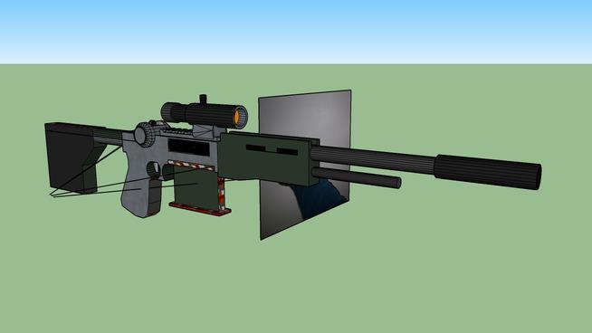 M14 EBR Scoped
