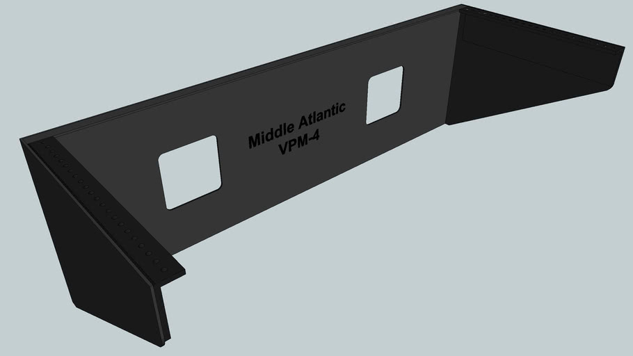 Middle Atlantic VPM-4 Vertical Panel Mount