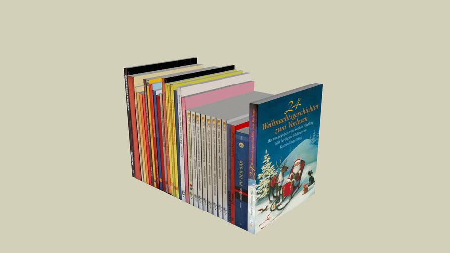 Bücher 08 (36x25,5x14,5cm)