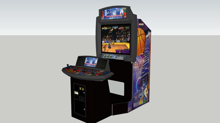 NBA Showtime - NBA On NBC arcade game (39 inch)