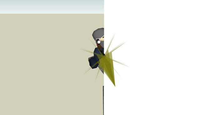 PLF sniper (peeking/firing)