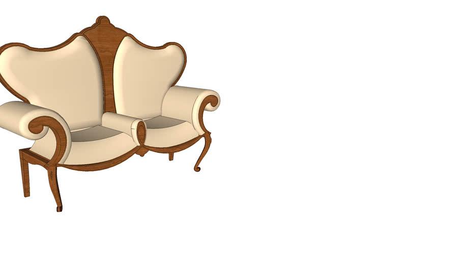 double sofa by voke