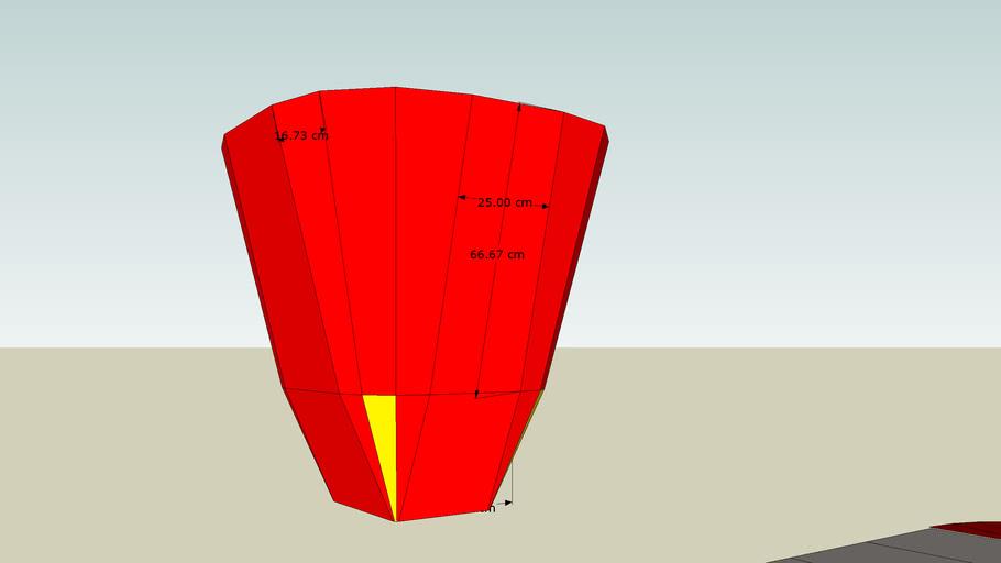 Solar Cooker Reflector