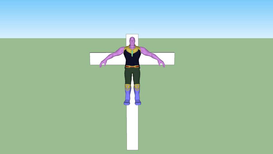 Thanos Crucifiction