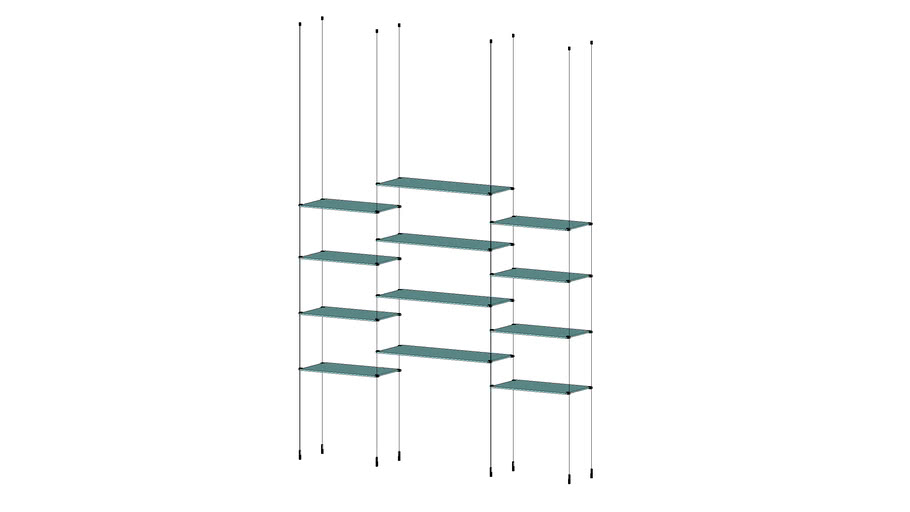 Cable Base Unit - 3 Sections