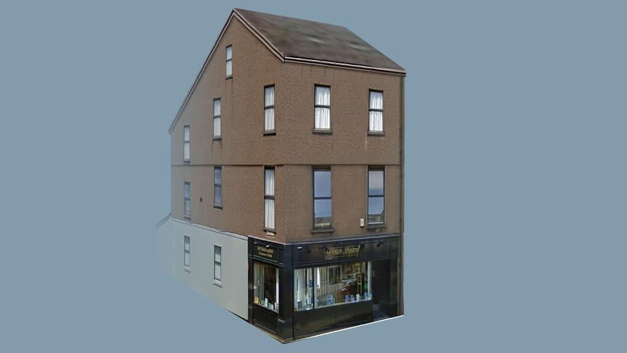 Building in Douglas, Isle of Man, UK