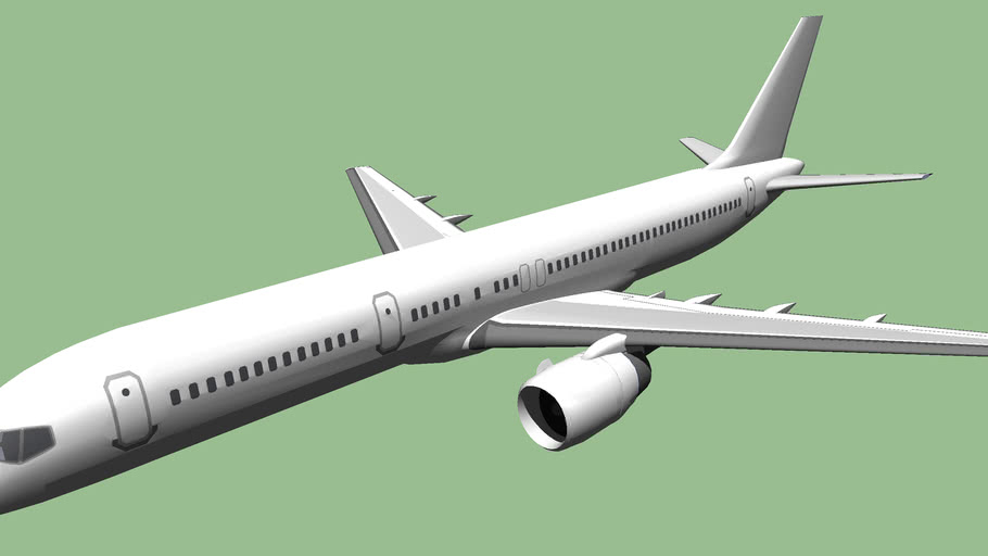 Template - Boeing 757-200