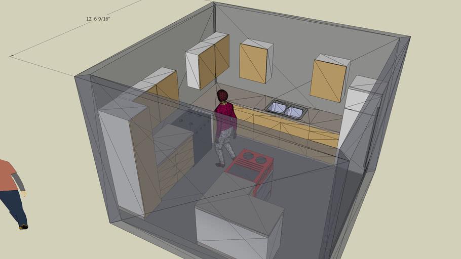 Kitchen Layout L Shaped 102