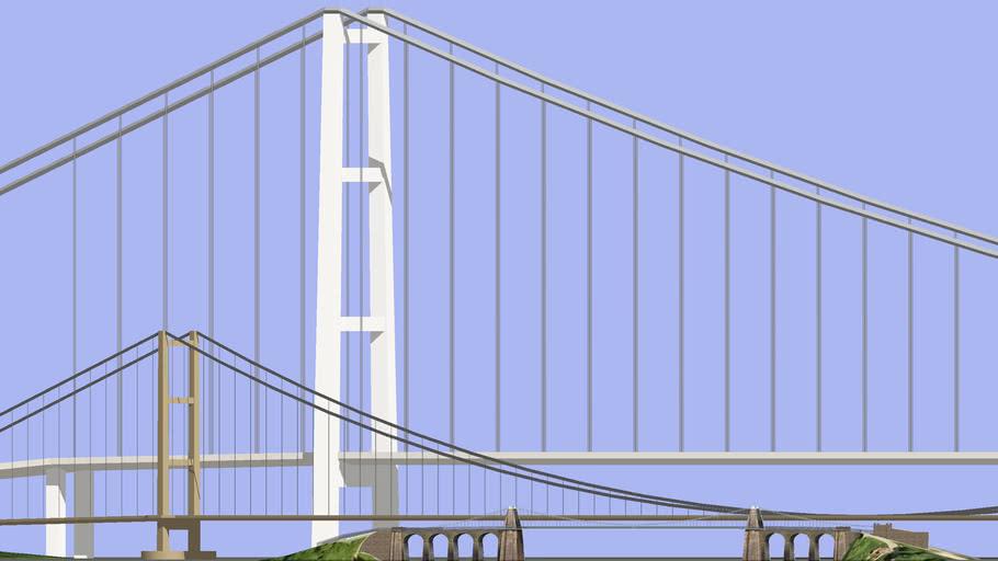 The progress of Modern Suspension Bridges