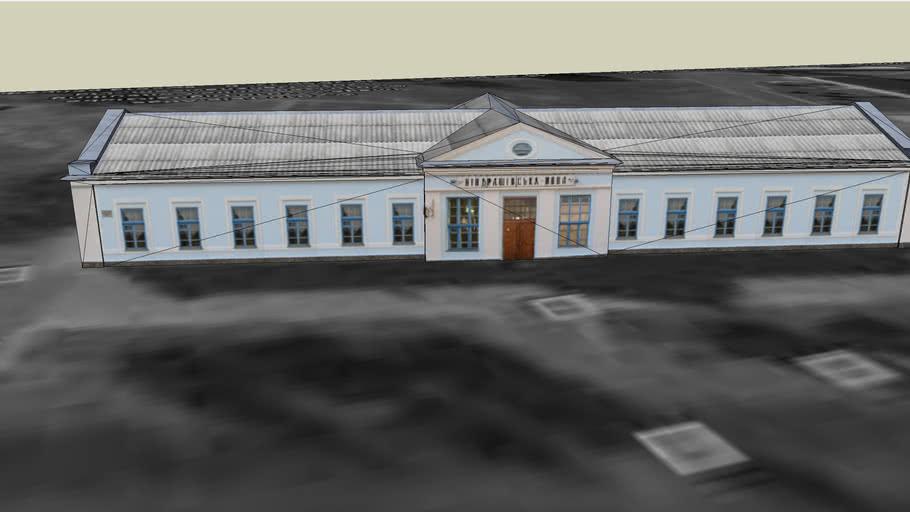 Здание вокзала станции Кондрашевская новая
