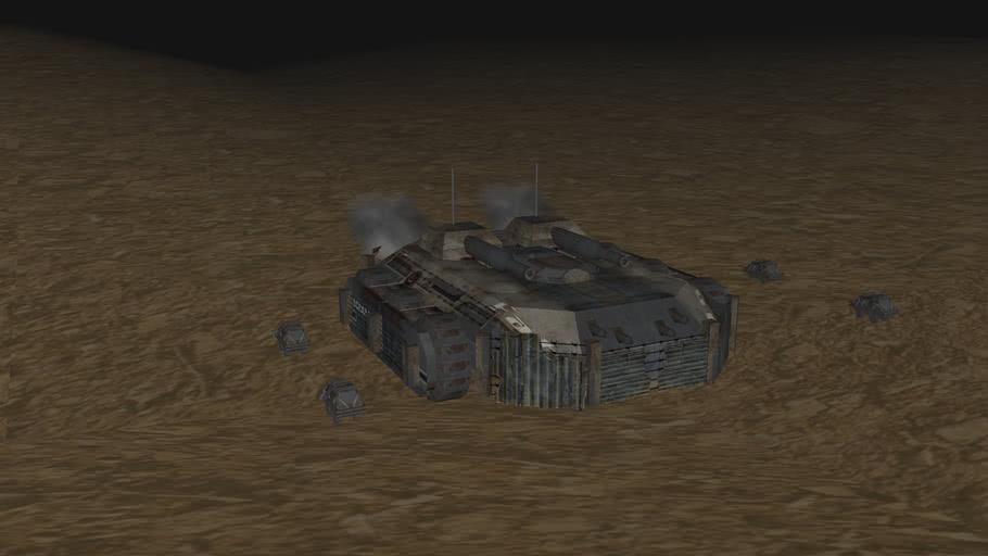 Scrap tank-303