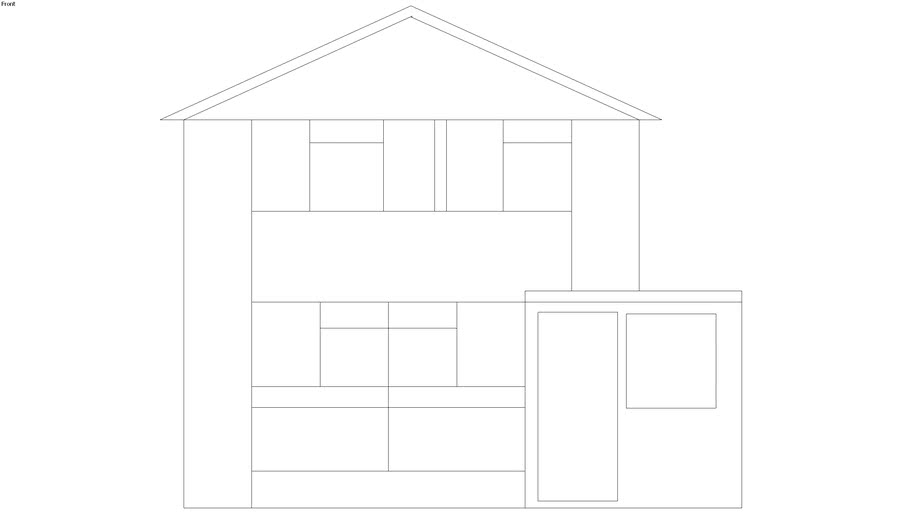 20 Arnett Way Existing elevations