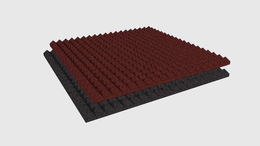 Skum Acoustics - Jafra – Pyramid foam panel
