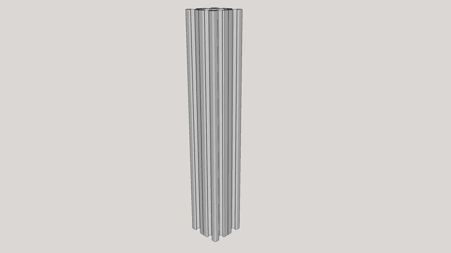 V-Slot 40x40x250 Linear Rail_1_0