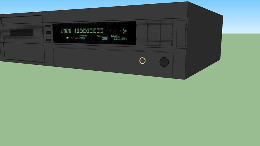 Nakamichi cassette deck (Model 1.5)