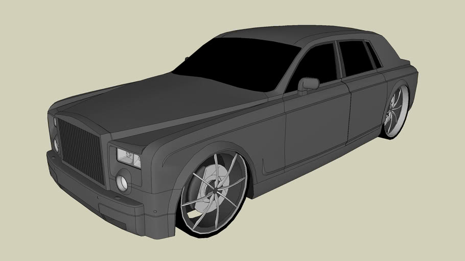 Tuned Rolls-Royce Phantom